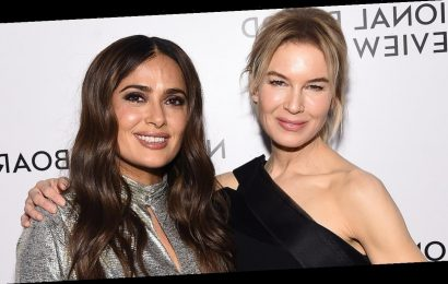 Salma Hayek says her 'big butt' ripped her 2003 Oscars gown, and Renée Zellweger saved the day