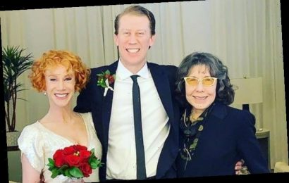 Lily Tomlin Officiated Kathy Griffin's Wedding for $25K