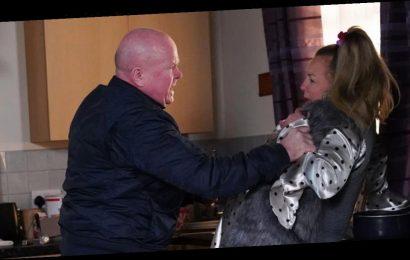 EastEnders' Phil Mitchell violently attacks Karen Taylor in brutal confrontation