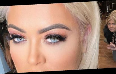 Gemma Collins looks unrecognisable as she ditches signature blonde locks
