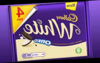 Cadbury selling tasty white chocolate Oreo bars – plus, dupe for Dream bar