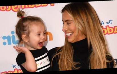 Ferne McCann reveals her daughter Sunday has hit 'terrible twos' as she opens up on love