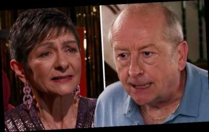 Coronation Street fans 'switch off' as Geoff Metcalfe loses it with Yasmeen: 'Can't watch'