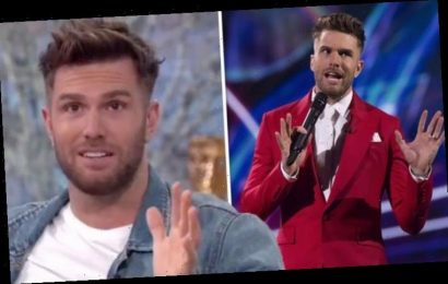 'Didn't know who he was' The Masked Singer host Joel Dommett in shock confession