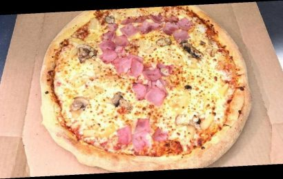 Domino's fan proposes with a Hawaiian pizza – and his girlfriend says yes