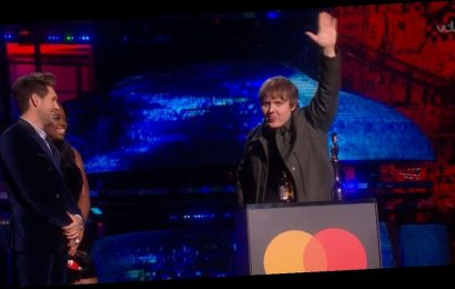 BRIT Awards fans baffled as Lewis Capaldi's acceptance speech is muted