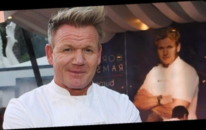 Gordon Ramsay looks unrecognisable as he goes undercover as a woman for TV show