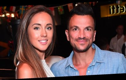 Peter Andre is so busy his wife has to book herself in to spend time with him