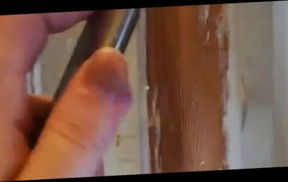 Woman's 'genius' hack for stripping paint saves time and you'll find it at home