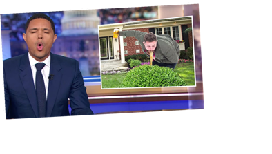 Trevor Noah Pukes Up The Grossest Presidential Campaign Analogy