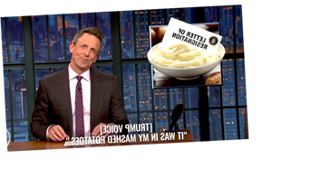 Seth Meyers Cooks Up A Recipe To Get Trump Out Of Office