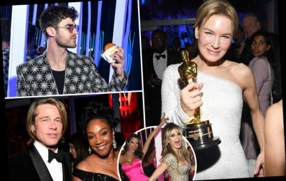 Inside Oscars 2020 Vanity Fair party as A-listers eat burgers, pose for selfies and hit the dancefloor