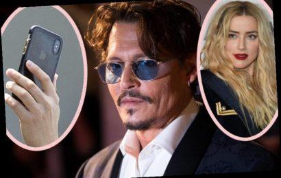 Johnny Depp's Violent, Bizarre Text Messages Revealed In Court