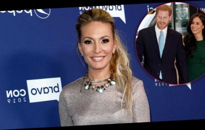Kate Chastain Channels Harry and Meghan to Announce 'Below Deck' Exit