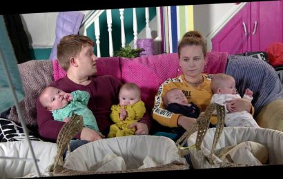 Coronation Street quads – what are the names of Gemma and Chesney's babies?