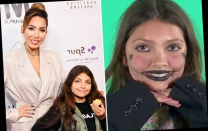 Teen Mom's Farrah Abraham SLAMMED after she releases video of daughter, 11, in eerie clown make up – The Sun