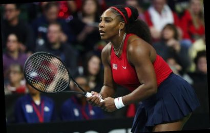 Serena Williams Posts A Realistic Glimpse of Life As A Working Mom