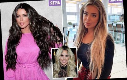 Kim Zolciak's daughter Brielle, 22, dyes blond hair black after deflating lips to 'look different' from reality star mom – The Sun