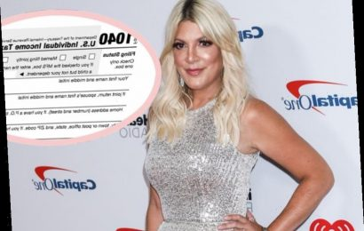 Tori Spelling's Tax Problems Are WAY Worse Than She Let On!