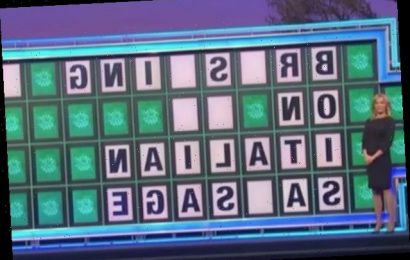 Naughty 'Wheel of Fortune' Puzzle Describes… Italian Sausage?