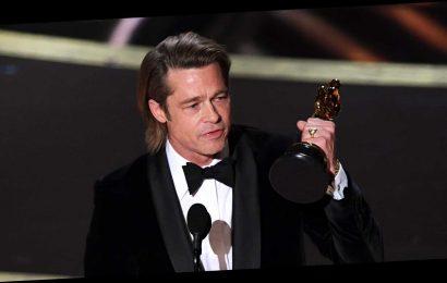 Brad Pitt Dedicated His Oscars Win to His Children