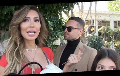 Farrah Abraham Says She and Daniel Ishag Are 'Just Friends' While They Leave Lunch Date (Exclusive)