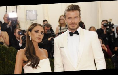 David and Victoria Beckham Can't Keep Their Hands off Each Other in a Throwback Video