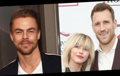 Here's Everything Derek Hough Would & Wouldn't Say About Sister Julianne's Marriage to Brooks Laich