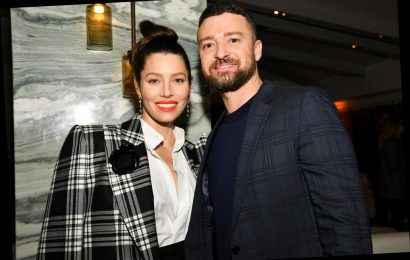 Justin Timberlake supports Jessica Biel at premiere post hand-holding scandal