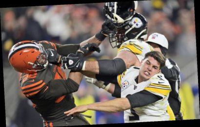 Pittsburgh Steelers QB Threatens Legal Action After ESPN Interview By Helmet-Swinger Myles Garrett
