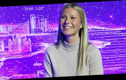 Gwyneth Paltrow Helps Inaugurate JVP's International Cyber Center in New York!
