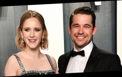 Rachel Brosnahan & Husband Jason Ralph Make Picture Perfect Couple at Vanity Fair Oscar Party 2020