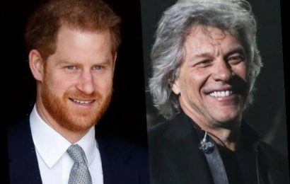 Jon Bon Jovi Reveals His New Nickname for Prince Harry