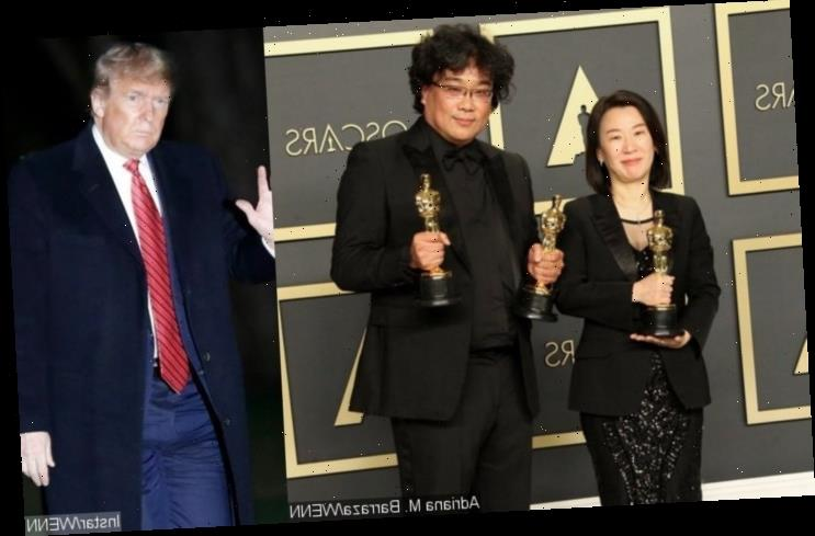 'Parasite' Distributor Savagely Claps Back at Trump for Criticizing Its Oscars Win: 'He Can't Read'