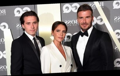 David and Victoria Beckham celebrate son Brooklyn's 21st birthday with sweet throwback photos