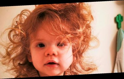 Baby girl born with full head of hair so thick she gets compared to David Bowie
