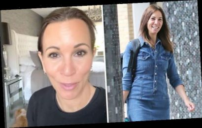 Andrea McLean: Loose Women host ditches bra in candid isolation video 'I've gone feral!'