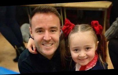 Coronation Street's Alan Halsall makes adorable homemade McDonald's for daughter