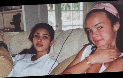 Kim Kardashian posts stunning throwback from teenage years on pal's birthday