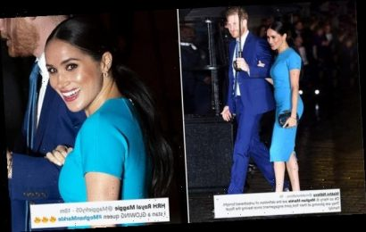 'Meghan Markle stuns royal fans with her 'glowing' appearance