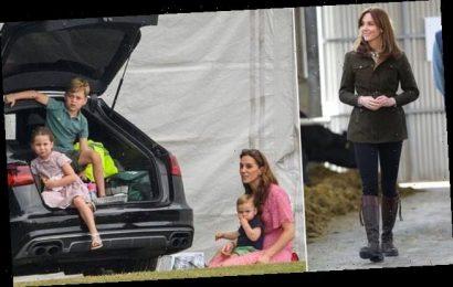 Kate Middleton takes children shopping at Sainsbury's