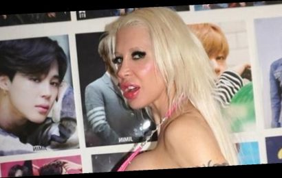 Frenchy Morgan flaunts new boobs amid $50k transformation into 'anime doll'