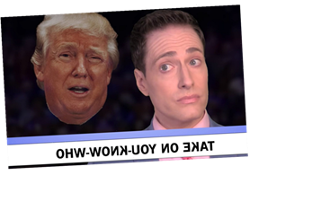 'Any Dem Will Do' In Randy Rainbow's Latest Anti-Donald Trump Parody