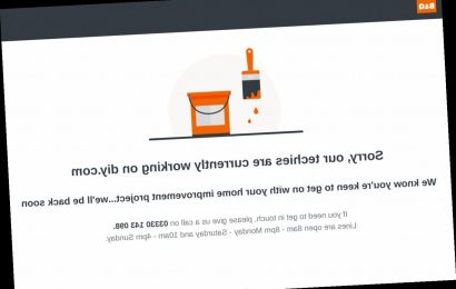 B&Q website down after DIY shop tells customers to order online as it closes stores