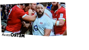 Joe Marler caught fondling Alun Wyn Jones' penis during England vs Wales