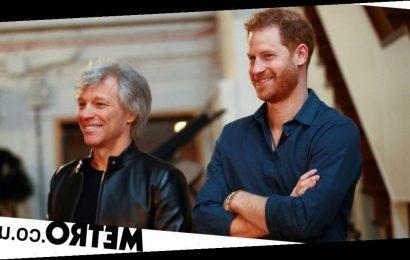 Prince Harry finally drops charity single recorded with Bon Jovi
