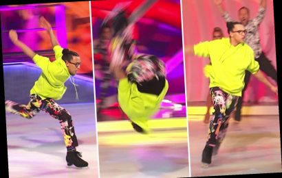 Dancing on Ice viewers stunned as finalist Perri Kiely performs dangerous back flip on the ice and gets perfect score – The Sun