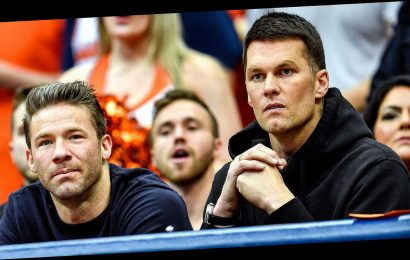 Tom Brady Seemingly Jokes About Future: 'He's Not' Coming Back