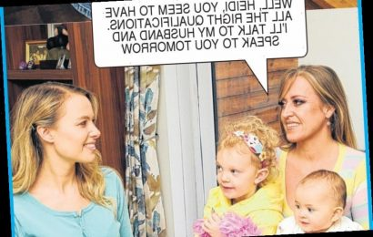 Naomi and Jacob hire a pretty blonde au pair to look after their children — Deidre's photo casebook – The Sun