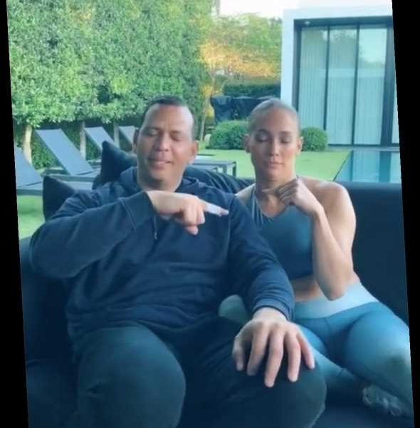 Jennifer Lopez and Alex Rodriguez Disagree Over Who Kissed Who First in TikTok Couples Game